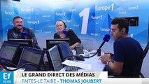 """Thomas Joubert fait ses adieux au """"Grand direct des médias"""""""