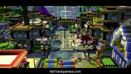 Minecraft  Story Mode - Season Two - OFFICIAL TRAILER