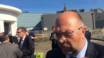 Stéphane Travert, ministre de l'Agriculture, rencontre les pêcheurs