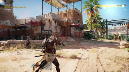 20 MINUTES OF XBOX ONE X GAMEPLAY de Assassin's Creed : Origins