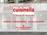 Cuisinella, cuisines, rangements et salles de bains à Boulogne-Billancourt.