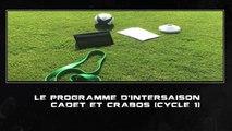 Présentation du programme d'intersaison cadet et crabos (cycle 1, été 2017)