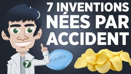 7 inventions nées par accident