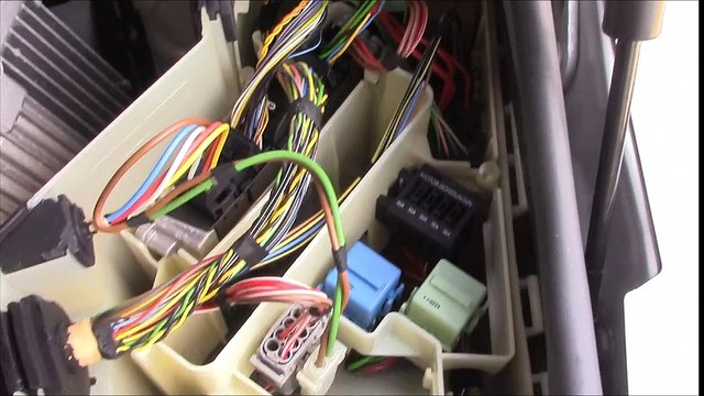 Bmw Fuse Panel Wiper Relay Junction Box Electronics Dash Removed