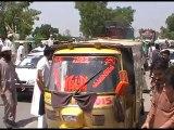 #چارسدہ: نوشہرہ کے عوام کا وزیر اعلی پرویز ختک کے خلاف احتجاج۔۔
