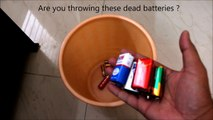 4 Useful things form 9V battery   DC motor   Life hacks