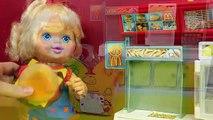 McDonalds HAPPY MEAL Magic Pretend Play Birthday Girl Doll Surprise Toys Burger Shake Fren