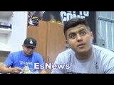 Robert Garcia On Chavez Jr Calling Out Danny Jacobs - EsNews Boxing