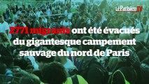 Paris : 2771 migrants évacués des campements de la porte de la Chapelle