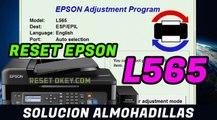 Reset EPSON L565 Solucion Almohadillas han llegado al final de su vida Util - 100 % Garantizado
