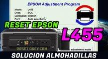 Reset Epson Solucion Almohadillas L455
