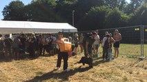 L'arrivée des festivaliers d'Au Foin de la rue vendredi 7 juillet