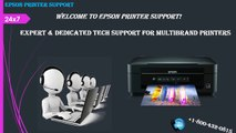 Epson Printer Support +1-800-432-0815