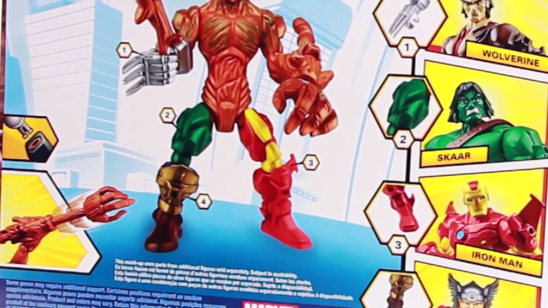 Marvel Super Hero Mashers ROCKET RACCOON & GROOT Action Figure Reviews
