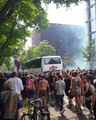 Thousands March Through Streets of Hamburg in G20 Protests