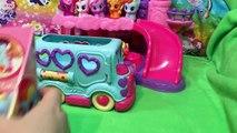Bébé autobus voiture conduire vite rapide aliments relation amicale petit mon poneys poney balade à Il jouet Hamburger à travers vi