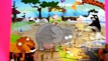Et les couleurs des noms de de des sons Zooo safari jouets pour animaux / apprendre des animaux / lion, tigre, gorille b