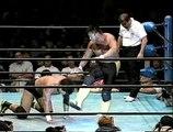[AJPW] Genichiro Tenryu vs. Toshiaki Kawada - Triple Crown Championship 10/28/00