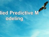 Read  Applied Predictive Modeling 8fbe0660