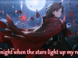 Nightcore - Talking To The Moon (Female Version) (Animated) - (Lyrics)