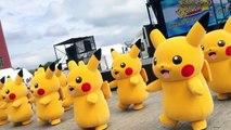 Ours danse pour drôle gommeux enfants garderie rimes chanson le le le le la avec Pokemon Pikachu