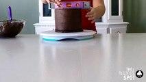 Un et un à un un à par par gâteau conception conception vers le bas bords pour gel Comment joli pointu sucre à Il à lenvers