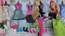 Gelé Poupée Barbie elsa anna vêtements dachat soap opera boutique de mode jeux dhabillage portugais