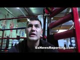 cicilio flores talks floyd mayweather vs sergio martienz - EsNews Boxing