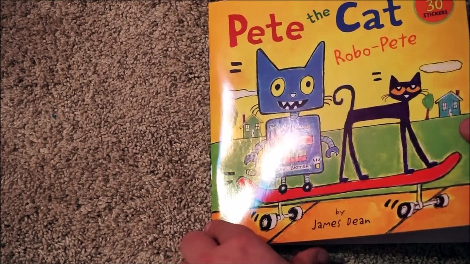 À haute voix Livre chat pour enfants Doyen Mme lire le le le le la avec Pete robo pete james |