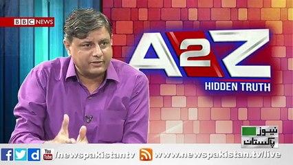 A2Z With Salik Majeed Topic- Kia Wazir-e-Azam  naahal ho jain gaye JIT k faaslye