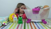 Bain poupée drôle dans le le le le la temps équipe Dans le baignent bain pupsika jeu de poupée bébé drôle