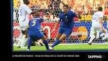 Le 9 juillet 2006, Zinedine Zidane mettait son coup de tête et la France perdait la Coupe du monde (Vidéo)