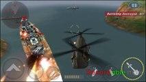 Batalla jugabilidad cañonera Base de radar de defensa chinook