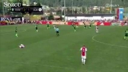 Ajax forması giyen Abdelhak Nouri hazırlık maçında baygınlık geçirdi