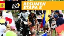 Resumen - Etapa 8 - Tour de France 2017