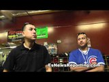 boxing fans from chicago visit the robert garcia boxing academy - EsNews Boxing