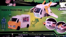 Ben 10 Omniverse Rooks Proto-Truk Toy Review Unboxing