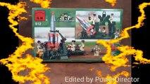 Y artillería militar tanques y de dibujos animados de Lego tanques de artillería lego tehnika..cartoon militar