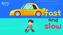 Niños vocabulario opuesto palabras Aprender los opuestos Inglés para Niños In