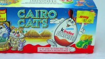 Kinder Surprise 1997 Cairo Cats Kinder Surprise Cats 1990s Opening New Vintage Kinder Surp