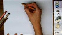Comment à dessiner homme chauve-souris