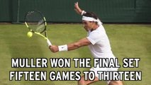 Rafael Nadal Upset By Gilles Muller In Wimbledon Round Of 16