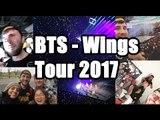 BTS WINGS TOUR 2017 VLOG!! I WAS SOBBING!!