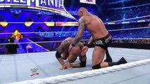 Daniel Bryan vs Randy Orton vs Batista Triple Threat Match for WWE World Heavyweight Championship Wrestlemania 30