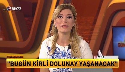 Astrolog Zeynep Turan: Bugün ''Kirli Dolunay'' yaşanacak!