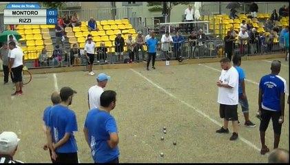 2ème Supranational à pétanque de Valréas - Huitième MONTORO vs RIZZI et Quart MARTINEZ vs ANDRIANANGALY