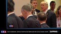 G20 à Hambourg : Donald Trump se fait remplacer par sa fille Ivanka Trump ! (Vidéo)