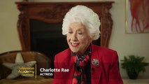 Charlotte Rae on playing Mrs. Garrett on Diffrent Strokes with Gary Coleman EMMYTVLEGENDS