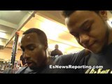 tour of mayweather boxing gym with top fighter kevin newman - EsNews Boxing