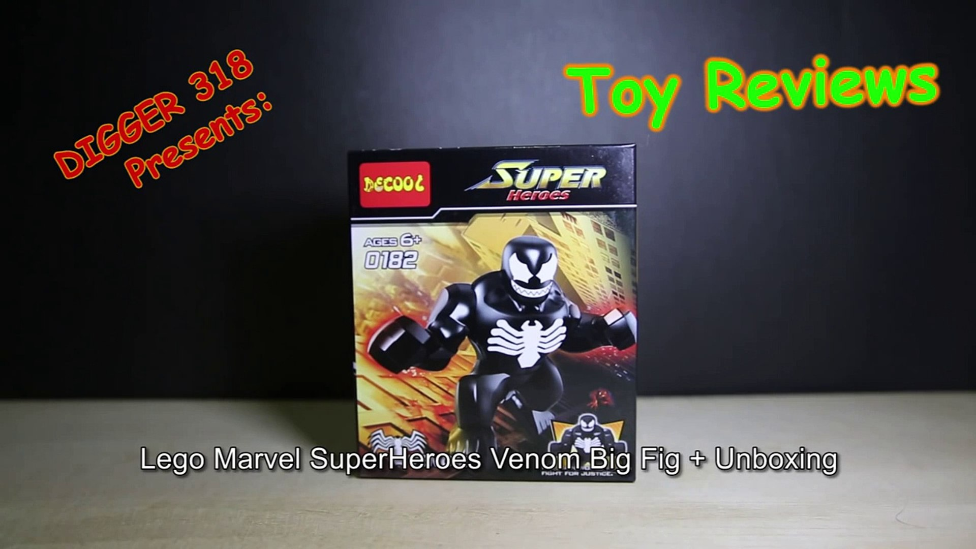 Figure Minifigures Venom Spiderman Vs Knockoffs Lego Big 5AqcjL34R